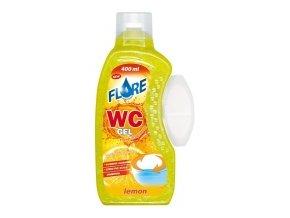 FLORE WC GEL 400ml LEMON gel do košíčků toalet
