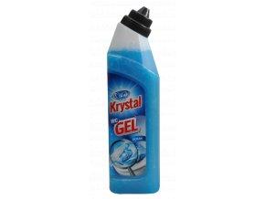 Krystal gel wc modrý