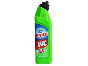 KRYSTAL WC kyselý na keramiku s ochranou zelený 750 ml