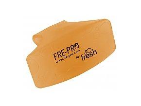 Fre Pro Bowl Clip vonná WC závěska Mango oranžová