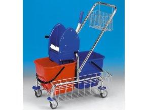 Eastmop úklidový vozík clarol 2x17 l