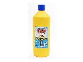 GO! na ODPADY tekutý 1l gel na čištění odpadů
