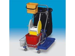 Eastmop úklidový vozík clarol plus VI plná výbava