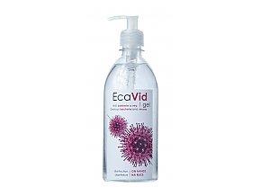 EcaVid Gel dezinfekce rukou 500ml s pumpičkou
