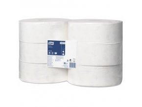 tork jumbo toaletni papir 360 m bily 2 vr 6rl kt 120272