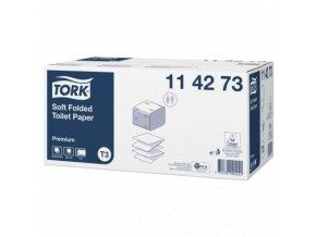 TORK jemný skládaný toaletní papír, 2vr.