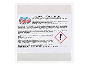 GO! TABLETY DO MYČKY 5v1 25 kusů