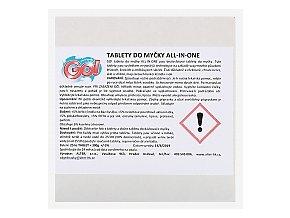 GO! TABLETY DO MYČKY 5v1 60 kusů