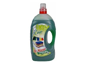 Dr.HOUSE prací gel 5,5l COLOR