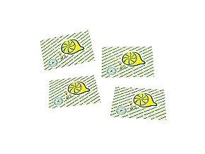 UBROUSKY osvěžující citronové balení 250ks