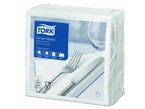 TORK bílý ubrousek – večeře