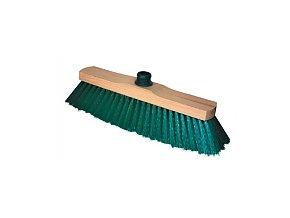 SMETÁK na hůl dřevěný nelakovaný se závitem