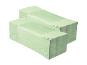 MERIDA jednotlivé papírové ručníky zelenkavé 5000ks skládané