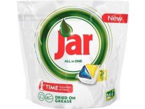 Jar Vše-v-1 Lemon kapsle do automatické myčky nádobí 24 ks