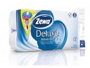 Zewa deluxe pure white 3-vrstvý 8 ks