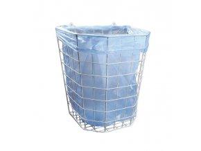 Merida Odpadkový koš drátěný bílý - závěsný 22 l