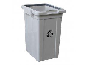 Odpadkový koš plastový na tříděný odpad 33 l