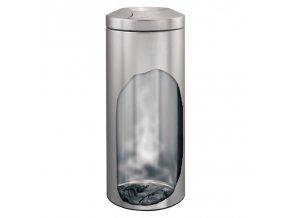 Merida Odpadkový kovový koš samozhášecí 30 l nerez mat.jpg 2