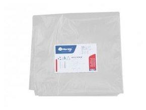 Merida Pytle na odpadky LDPE, 40 mi,90x110cm,160 l, bílé 10ks