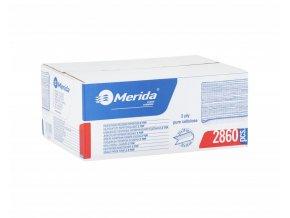 Merida Jednotlivé papírové ručníky Z TOP 2860 ks - 100% celuloza, skládané