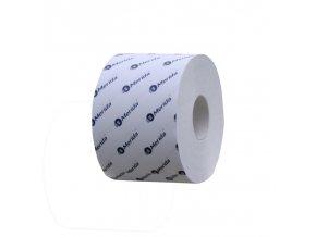 Merida Toaletní papír OPTIMUM BÍLÝ, 2 vrstvý, 13,5 cm x 9 cm, 68 m, (18 rolí,bal)