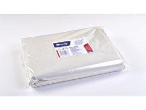 Merida Pytle na odpadky LDPE, 38 mi, 70x110cm,120 l,bílé 50 ks