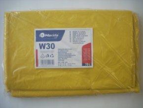 Merida Sáčky na odpadky LDPE 30 mi,60x90cm,70 l,žluté 50 ks