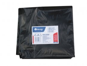 Merida Pytle na odpadky LDPE, 38 mi, 70x110cm,120 l,černé 50 ks