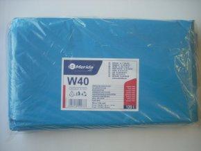 Merida Pytle na odpadky LDPE, 38 mi, 70x110cm,120 l,modré 50 ks