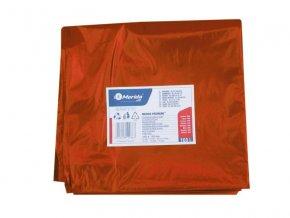 Merida Pytle na odpadky LDPE, 40 mi,90x110cm,160 l, červené. 10ks