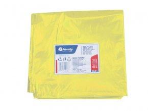 Merida Pytle na odpadky LDPE, 40 mi,90x110cm,160 l, žluté 10ks