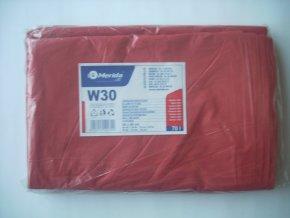 Merida Sáčky na odpadky LDPE 30 mi,60x90cm,70 l,červené 50 ks