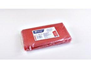 Merida Sáčky na odpadky LDPE, 25 mi,50x60cm,35 l,červené 50ks