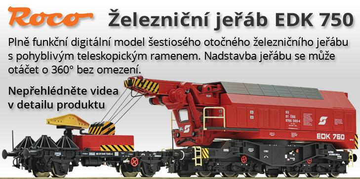 H0 - Digitální železniční jeřáb