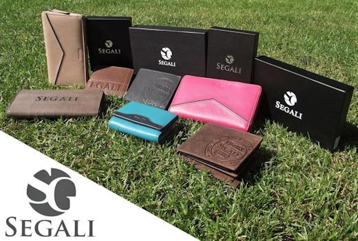 Skladem nové kožené peněženky značky SEGALI
