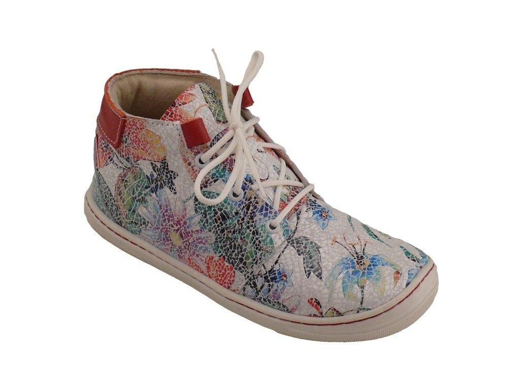 Dětské celoroční boty Pegres 1406B květina - VLAPA.cz 359e5cc0a6