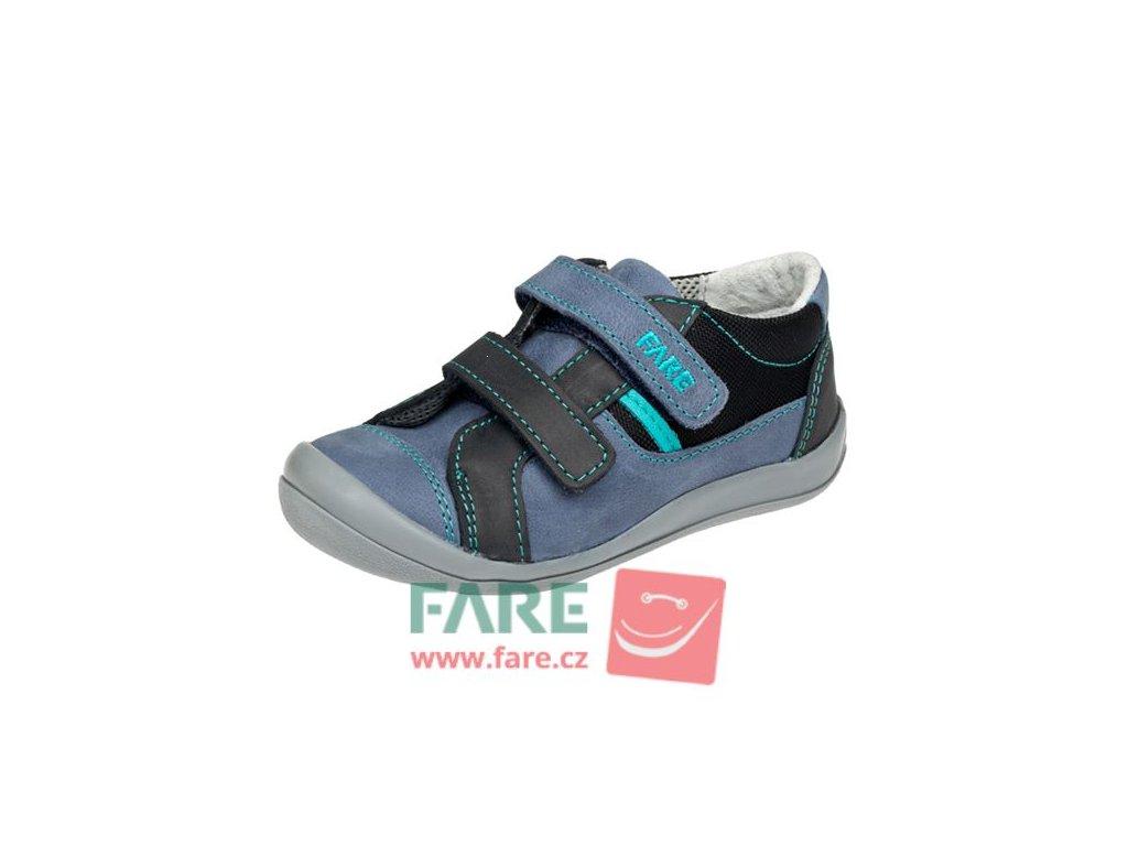 Dětské celoroční boty Fare 812103 modré