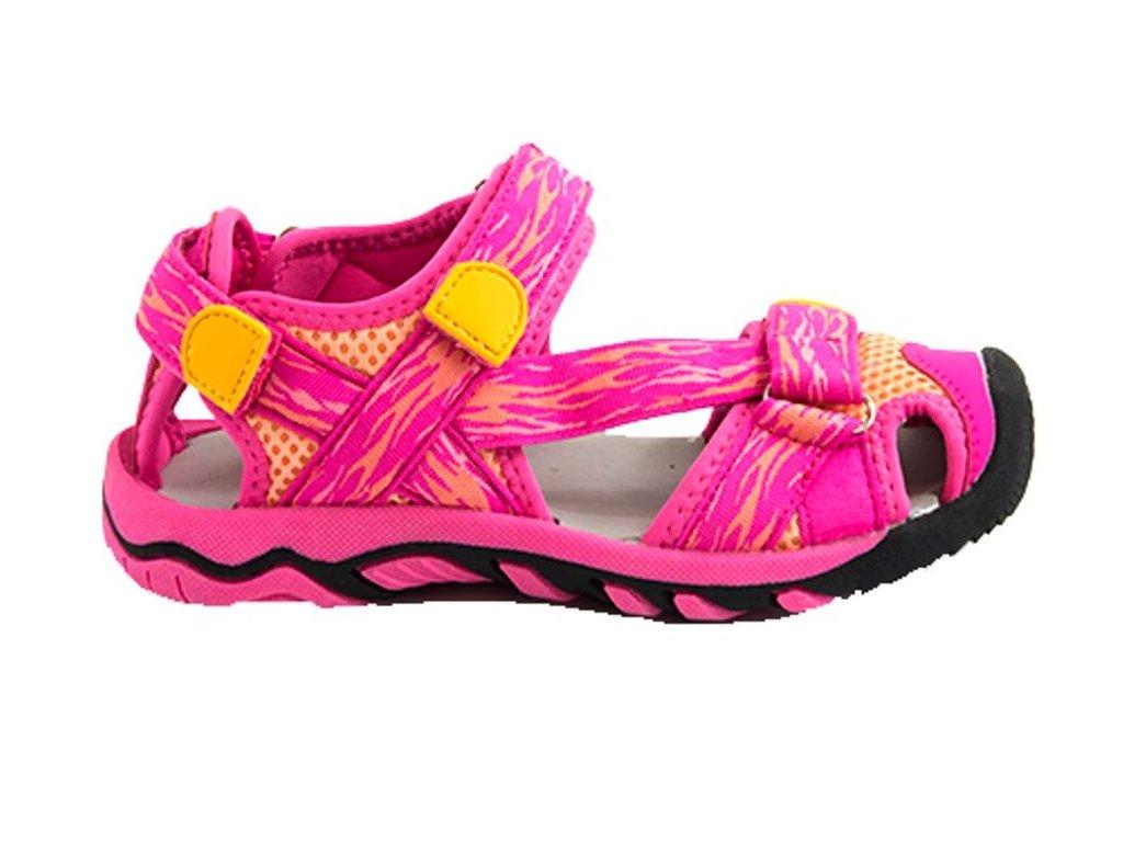 Dětské sportovní sandály Bugga B00161 růžové