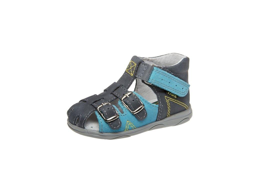Dětské letní sandálky Fare 568105 modré