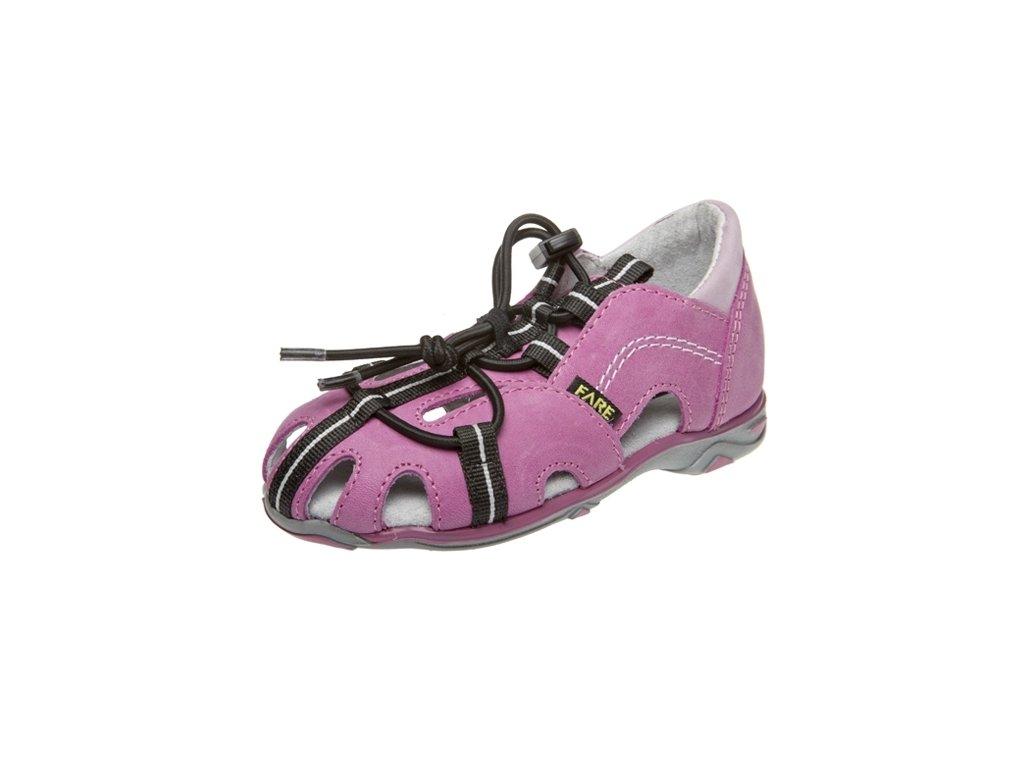 Dětské letní sandálky Fare 764151 růžové