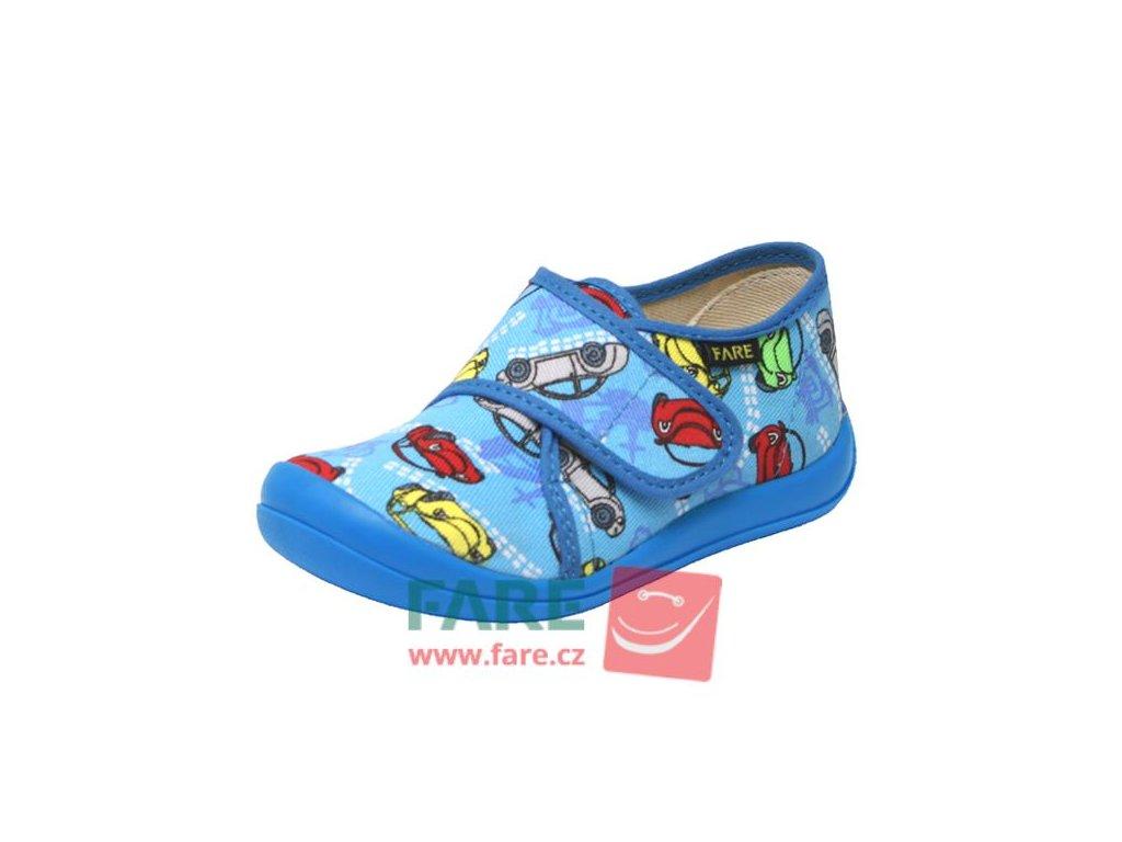 Bačkůrky Fare 4115402 modré suchý zip