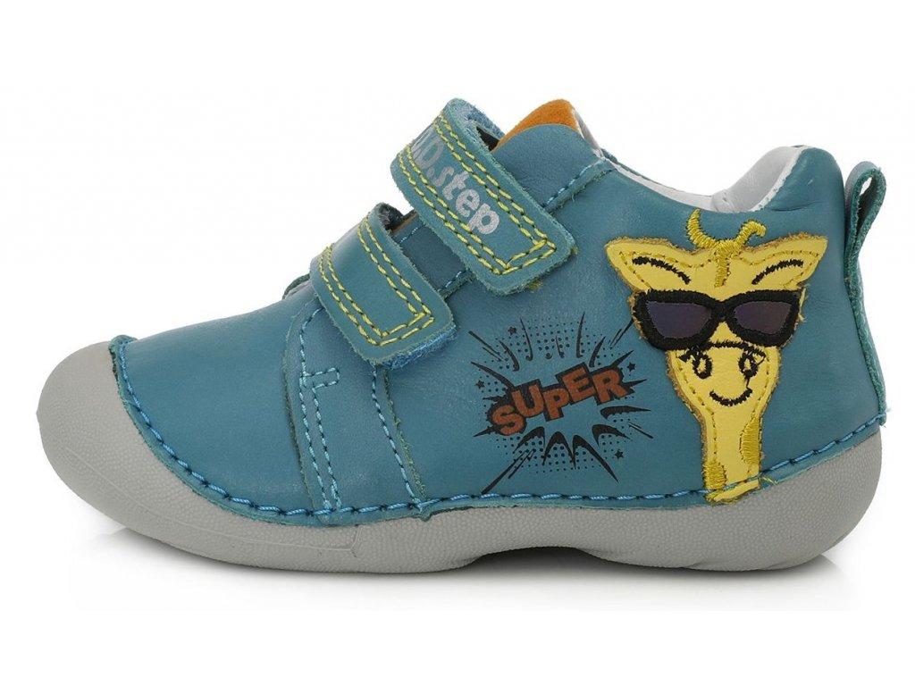 Dětské celoroční boty D.D.step 015-798 modré