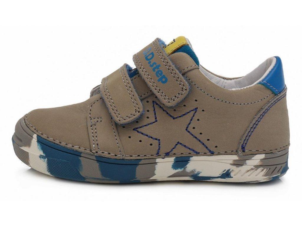 Dětské celoroční boty D.D.step 040-168M šedé