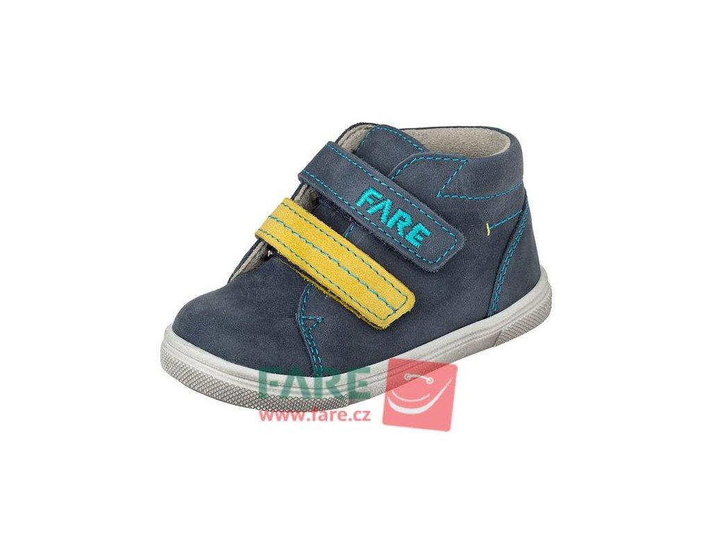 Dětské celoroční kotníkové boty Fare 2155105 modrá