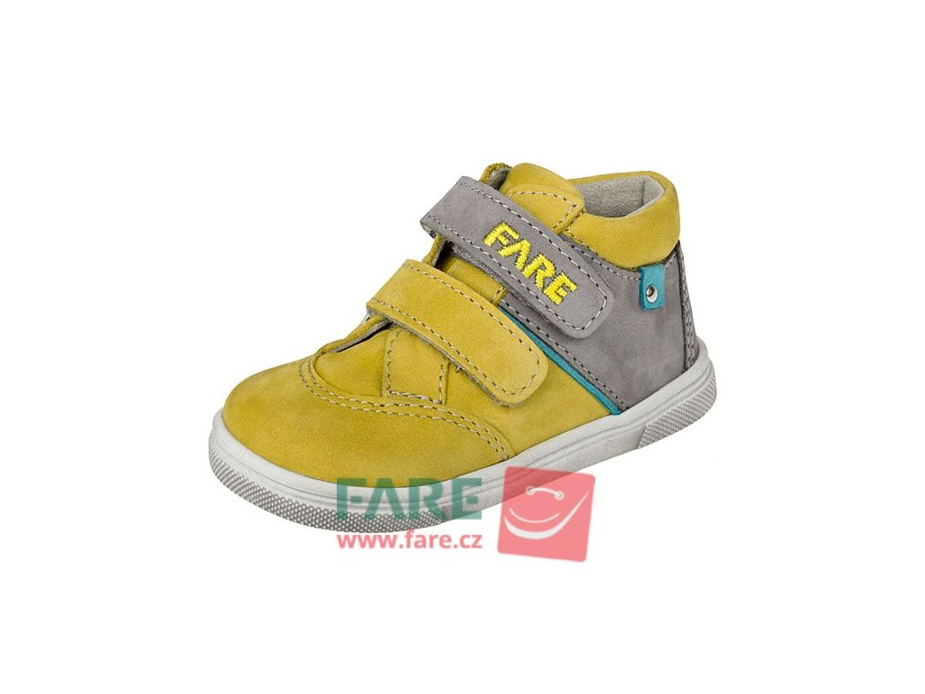 Dětské celoroční kotníkové boty Fare 2121281 žluté