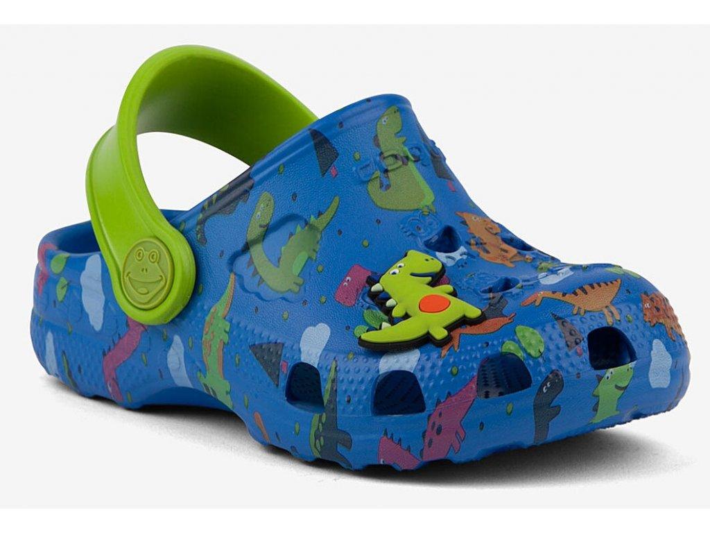 Dětské sandály Crocs Coqui Little Frog modré