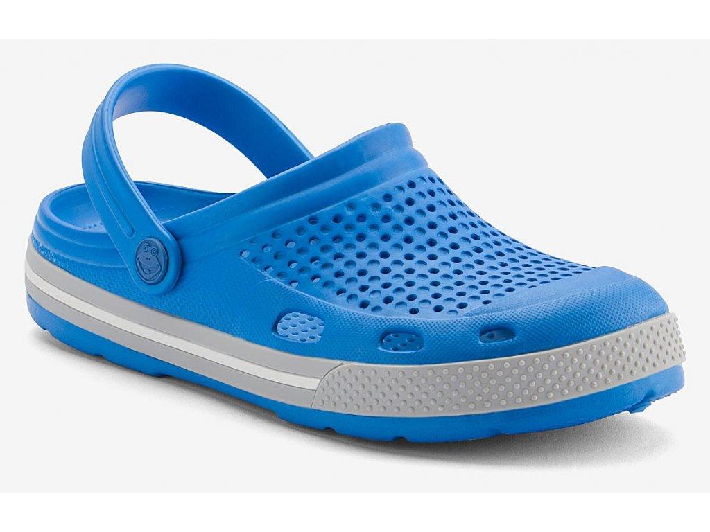 Pánské sandály Coqui LINDO světele modré