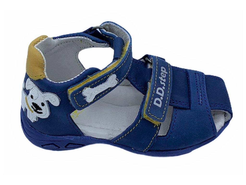 Dětské letní sandálky D.D.step AC290-612 modré