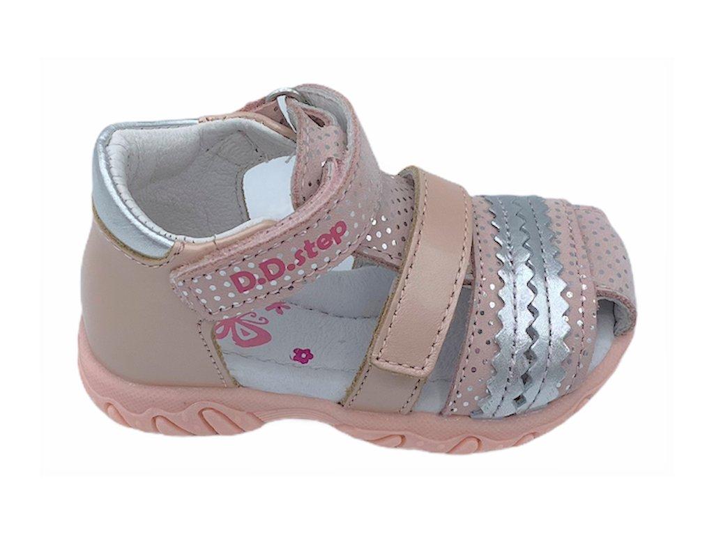 Dětské letní sandálky D.D.step AC625-716 růžové