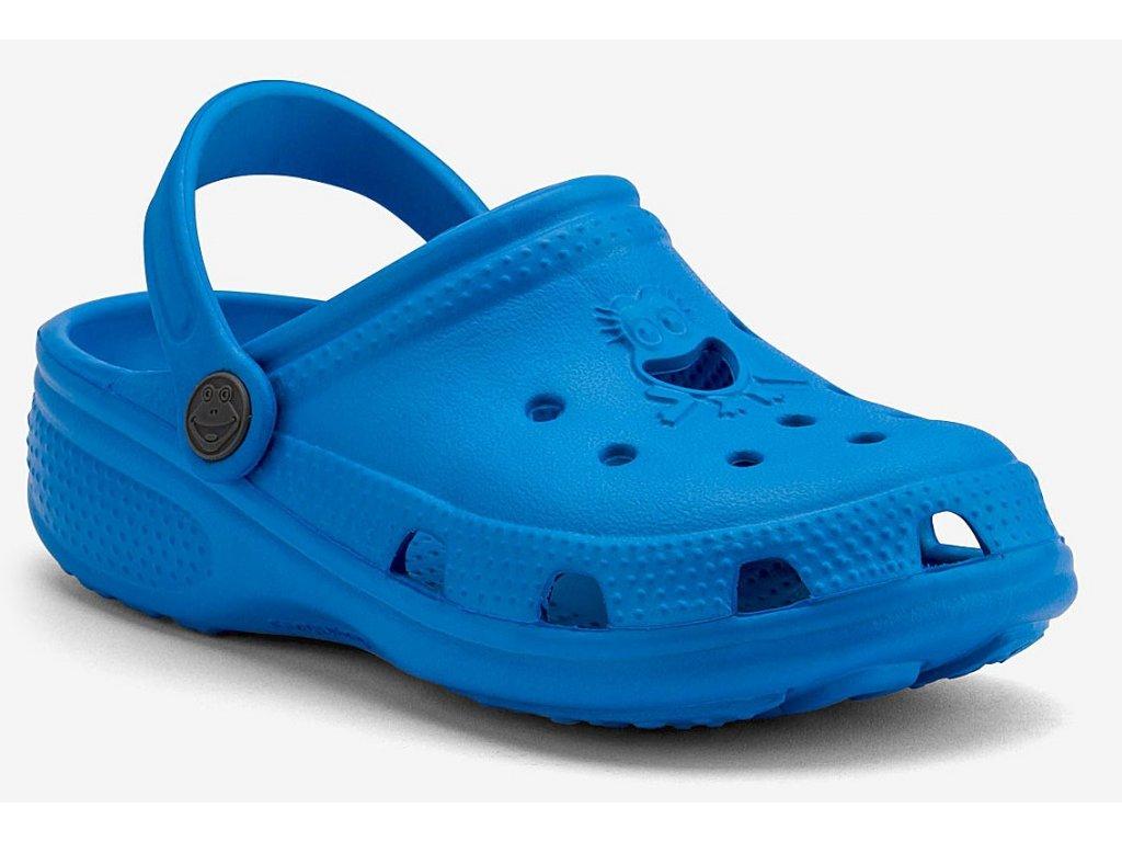 Dětské sandály Crocs Coqui Big Frog modré